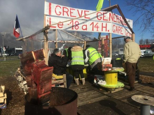 Les Gilets jaunes de Crolles, dans l'Isère