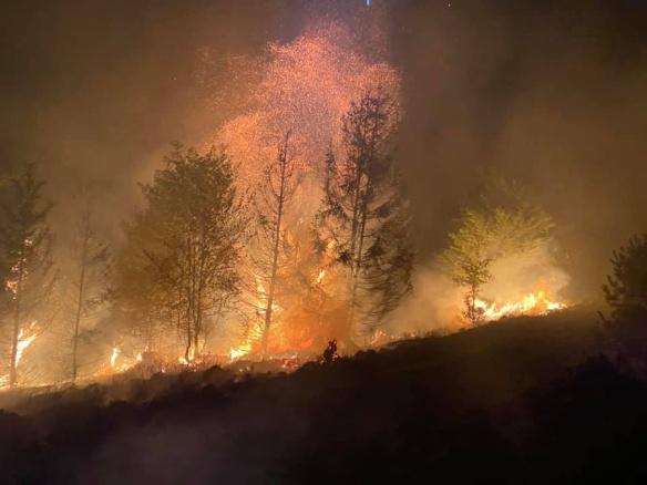 Incendie à Remiremont