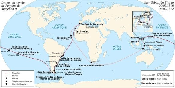 Circumnavigation de Magellan/Elcano