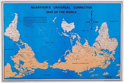 Planisphère de McArthur