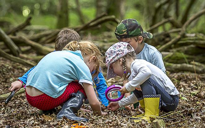 Forest School au Danemark